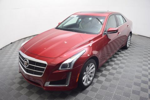 Certified Used Cadillac CTS SEDAN 4dr Sedan 2.0L Turbo Luxury AWD