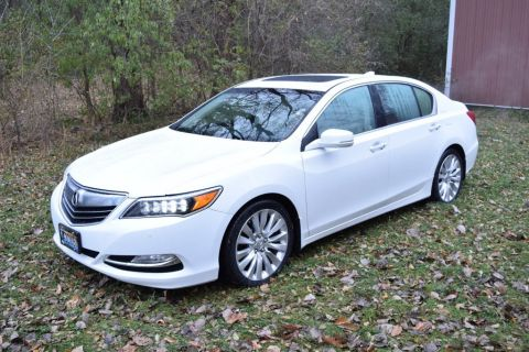 Used Acura RLX 4dr Sedan Advance Pkg