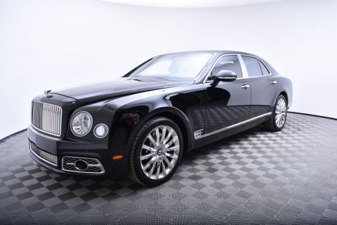 New Bentley Mulsanne Sedan