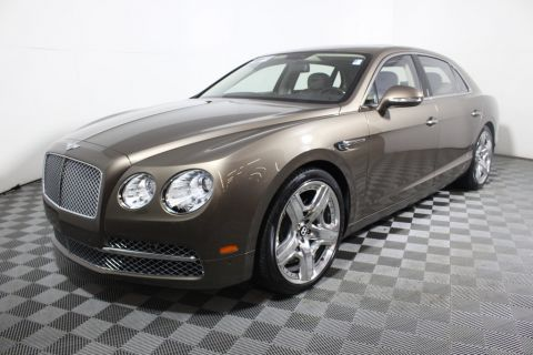 Certified Used Bentley Continental Flying Spur 4dr Sedan