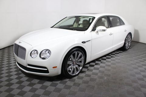 New Bentley Flying Spur V8 Sedan