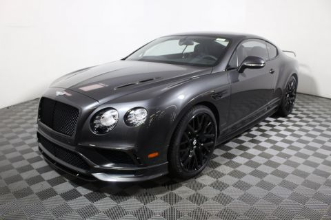 New Bentley Continental GT Supersports Coupe