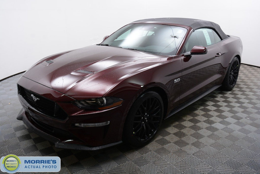 new 2018 ford mustang gt premium convertible convertible in hopkins fn24648 morrie 39 s. Black Bedroom Furniture Sets. Home Design Ideas