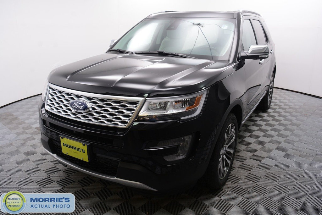 New 2017 Ford Explorer Platinum 4WD