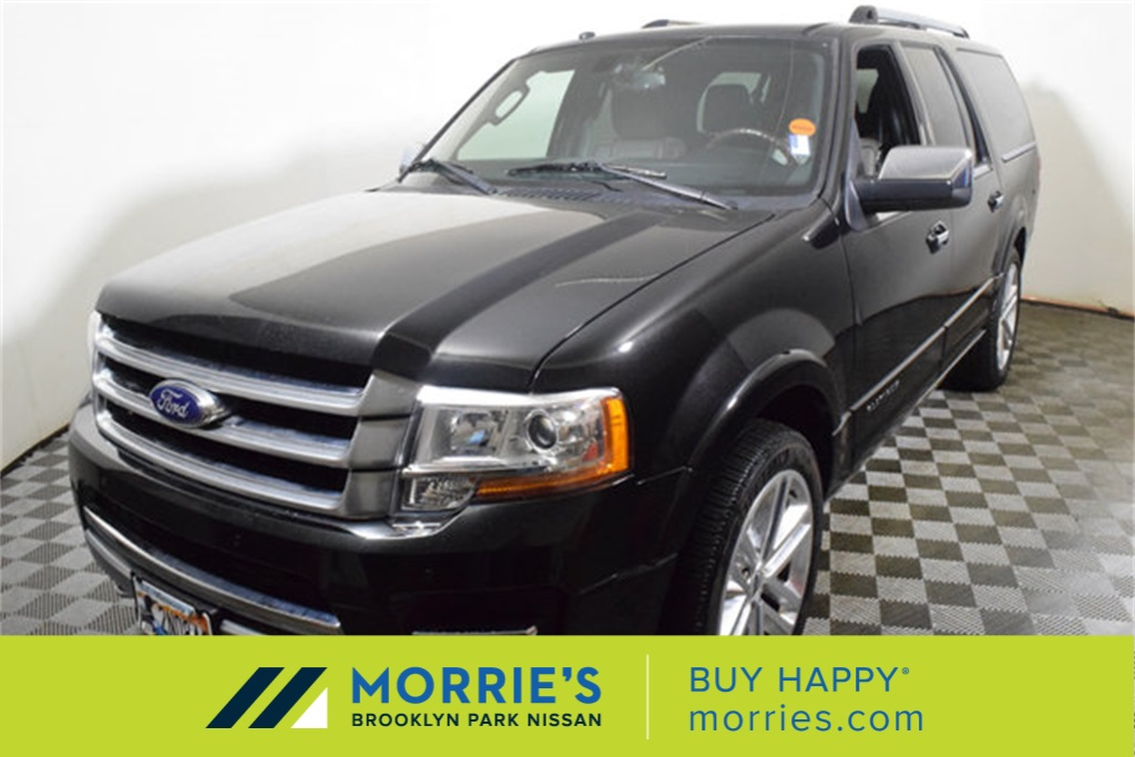 Ford Expedition El >> Pre Owned 2015 Ford Expedition El Platinum 4d Sport Utility In