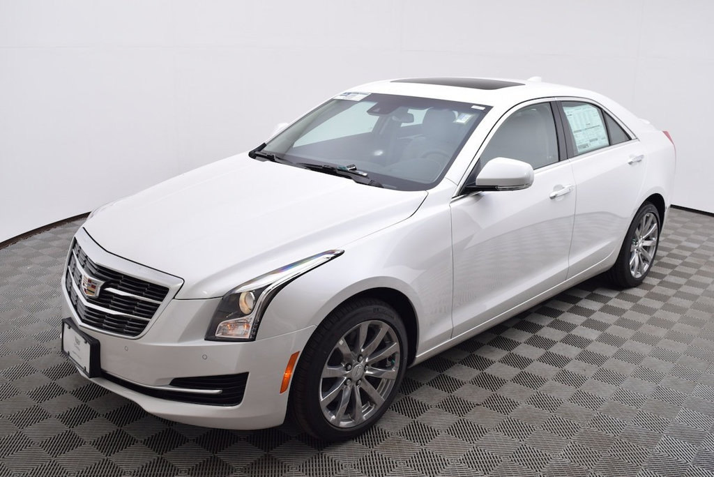 New 2018 Cadillac Ats Sedan 4dr Sedan 2 0l Luxury Awd Sedan In