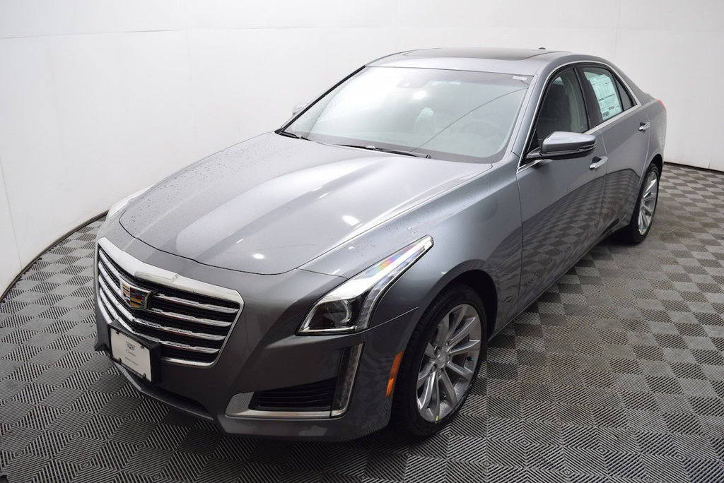 New 2018 Cadillac CTS Sedan 4dr Sedan 3.6L Luxury AWD AWD