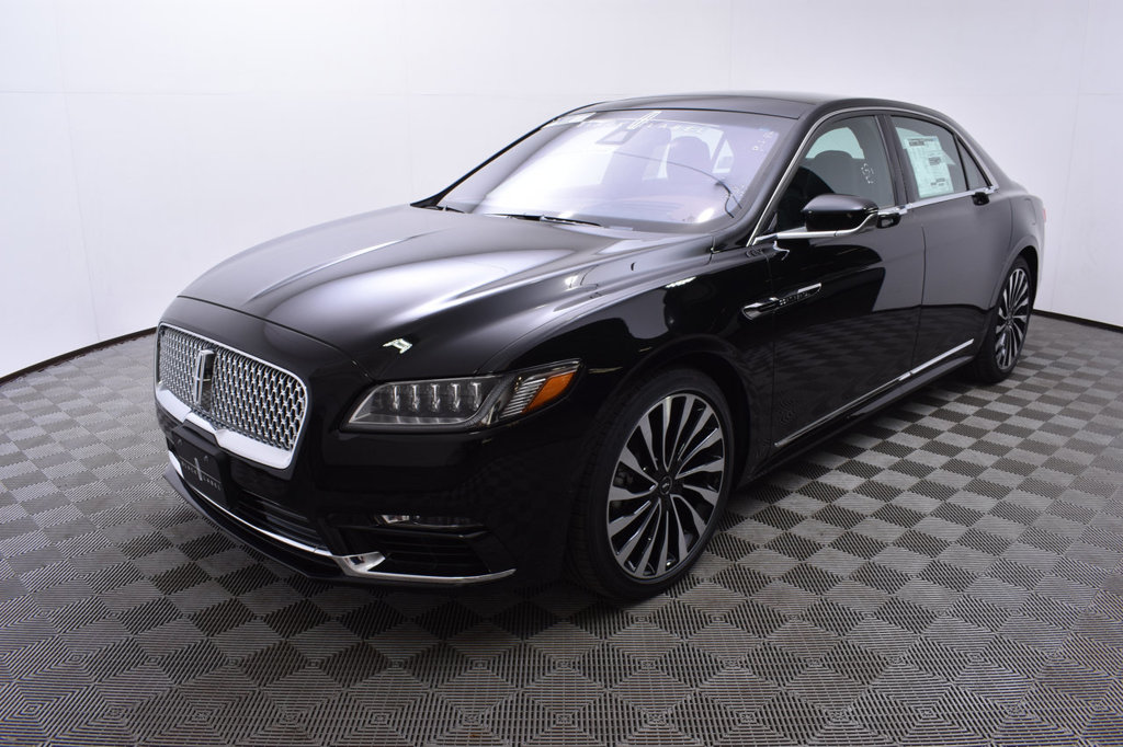 New 2018 Lincoln Continental Black Label Awd Sedan In Minnetonka