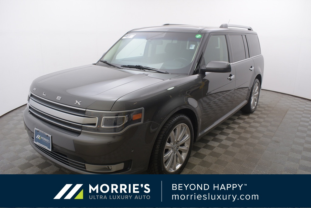 2018 Ford Flex: Comes Unchanged And Possibly As The Last Version >> Pre Owned 2016 Ford Flex Limited Awd