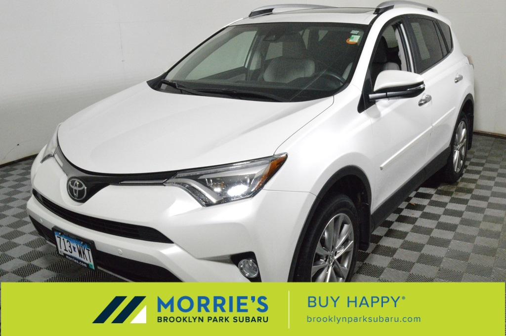 Toyota Brooklyn Park >> Pre Owned 2017 Toyota Rav4 Limited Awd