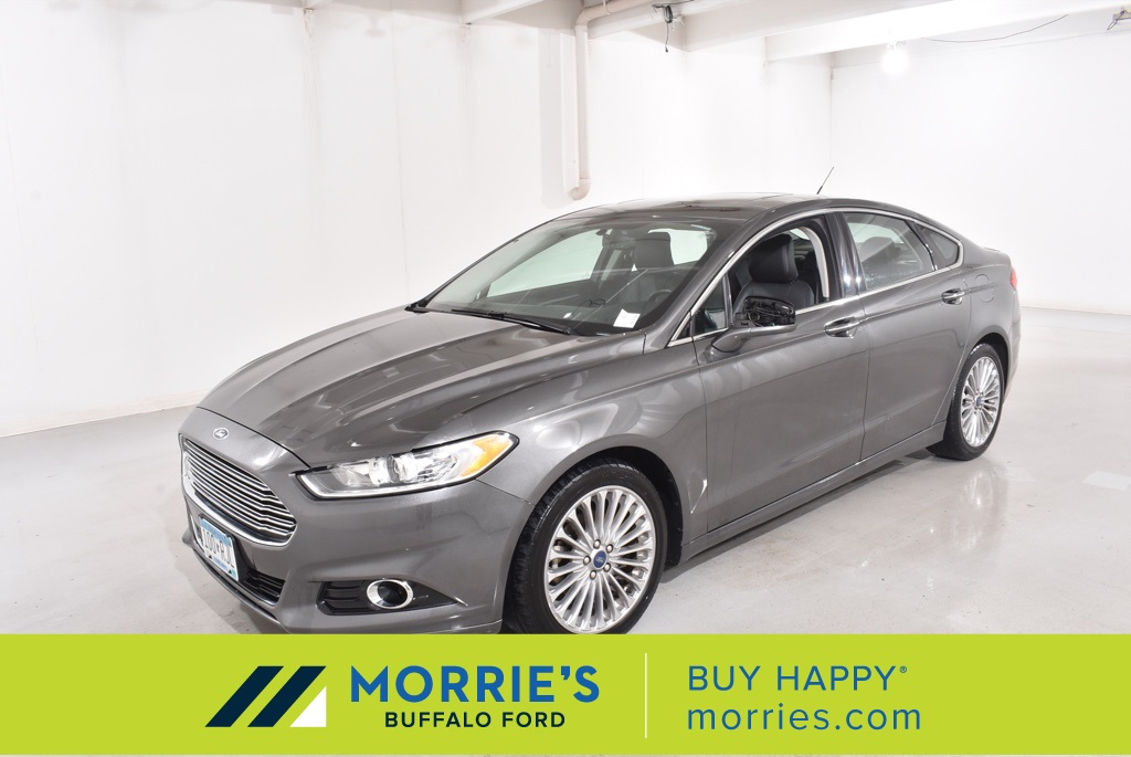 Pre Owned 2016 Ford Fusion Titanium 4d Sedan In Minnetonka 9n19555a Morrie S Auto Group