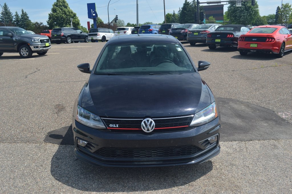 Pre-Owned 2017 Volkswagen Jetta GLI FWD 4D Sedan