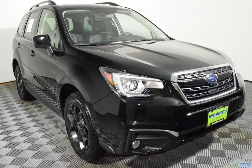 2018 subaru forester black edition. delighful subaru new 2018 subaru forester 25i premium black edition cvt to subaru forester black edition