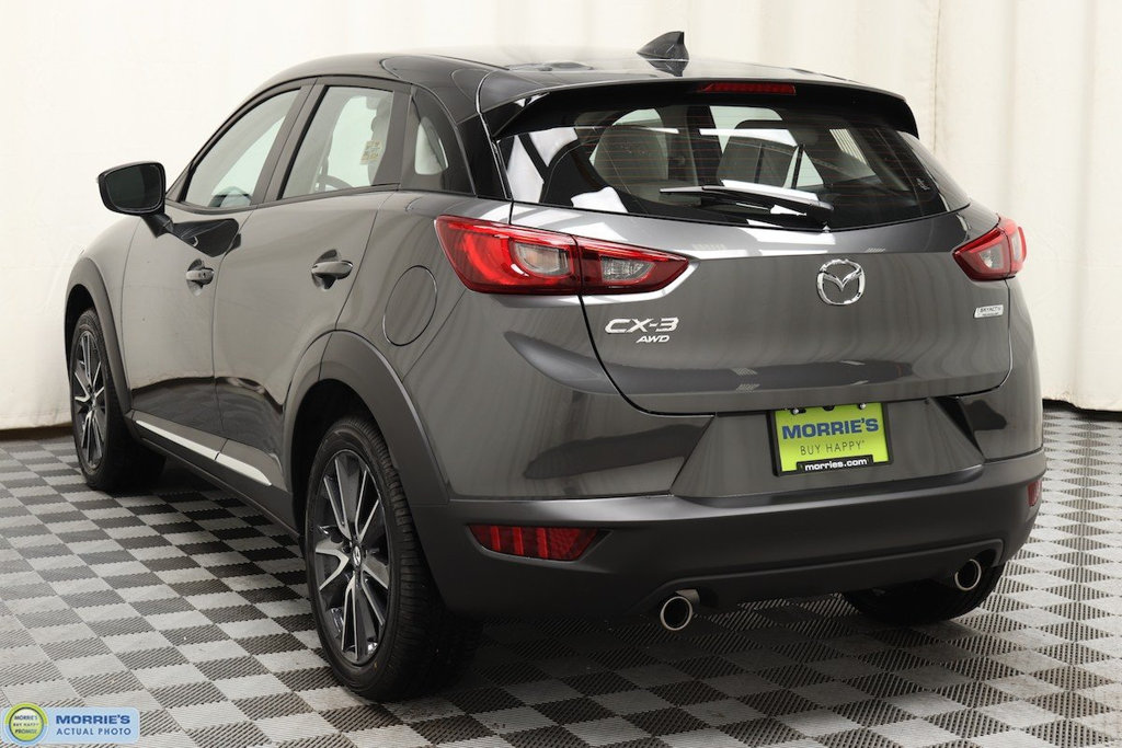 new 2018 mazda cx 3 grand touring awd suv in hopkins nd11287 morrie 39 s automotive group. Black Bedroom Furniture Sets. Home Design Ideas