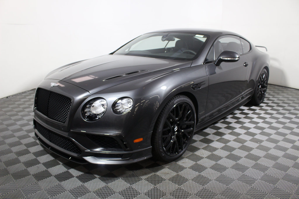New 2017 Bentley Continental GT Supersports Coupe