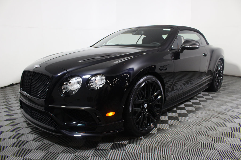 New 2018 Bentley Continental Gt Supersports Convertible Convertible