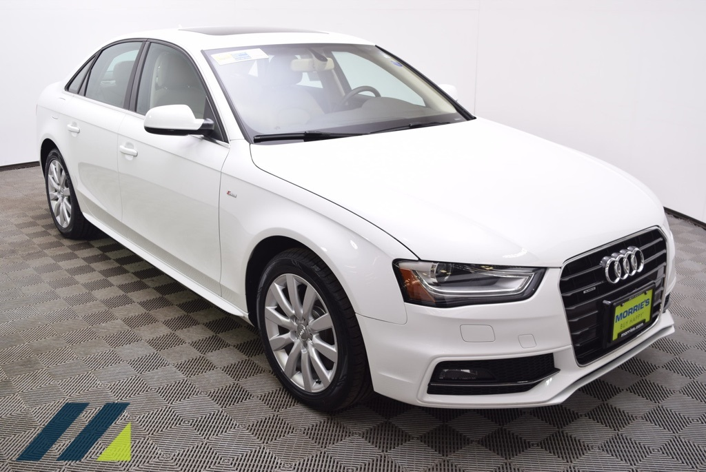 Pre Owned 2015 Audi A4 20t Premium Quattro 4d Sedan