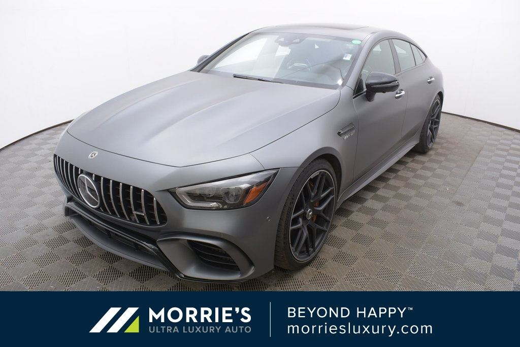 Pre Owned 2019 Mercedes Benz Amg Gt 63 4matic 4d Hatchback
