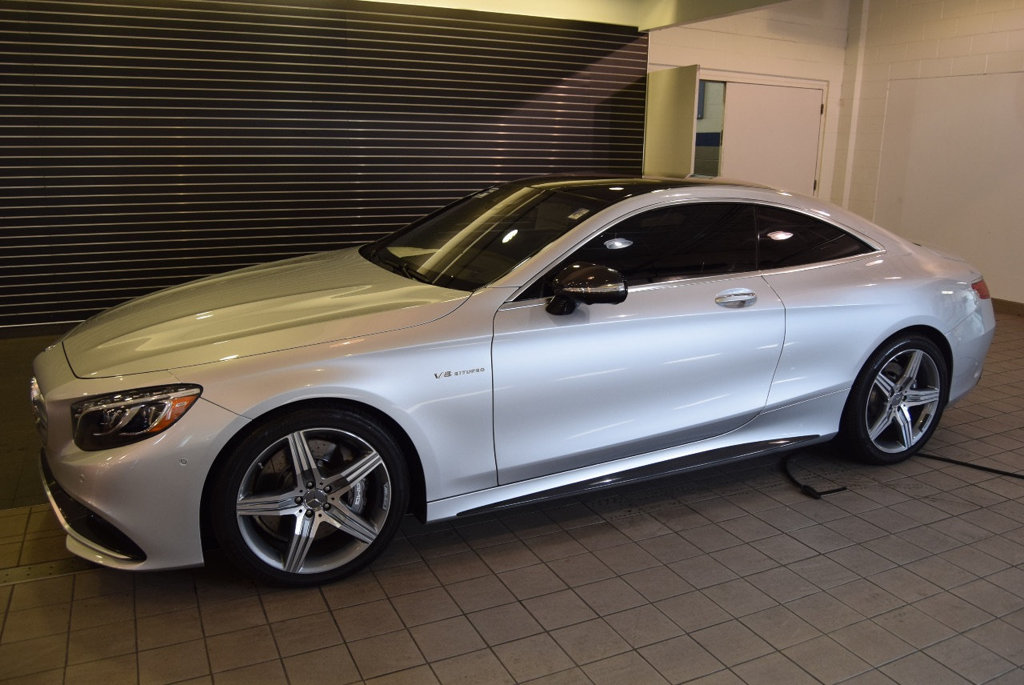 Certified Pre Owned 2015 Mercedes Benz S Class 2dr Coupe S 63 AMG