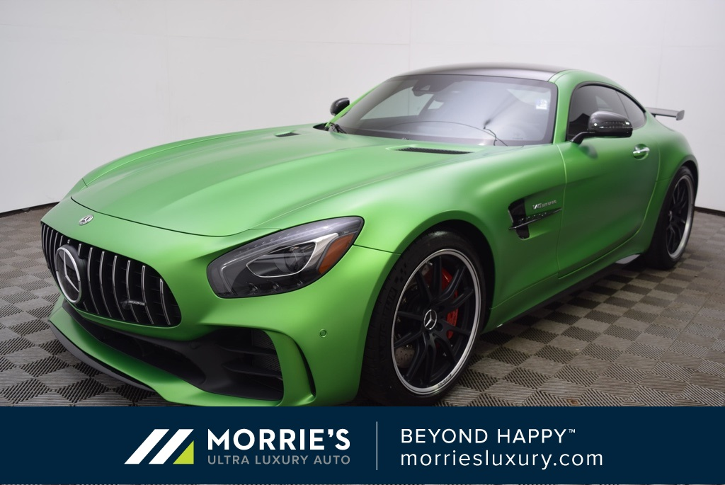 Mercedes Benz Amg Gt >> Pre Owned 2018 Mercedes Benz Amg Gt R Rwd 2d Coupe