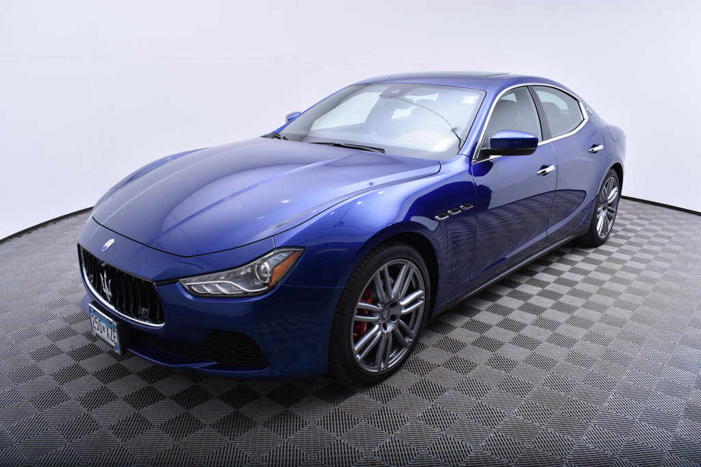 Pre Owned 2017 Maserati Ghibli S Q4 3 0l Sedan In Minnetonka
