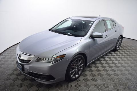 Pre-Owned 2015 Acura TLX 4dr Sedan FWD V6 Tech