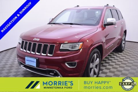 Pre-Owned 2014 Jeep Grand Cherokee Overland Flex Fuel