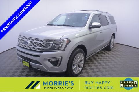 Certified Pre-Owned 2019 Ford Expedition Max Platinum