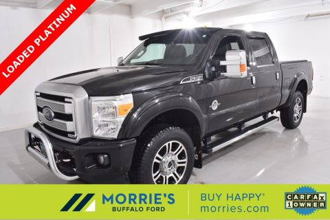 Pre-Owned 2015 Ford F-350SD Platinum Diesel