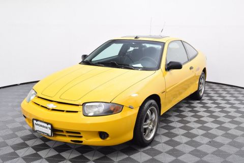 Pre-Owned 2003 Chevrolet Cavalier 2dr Coupe LS