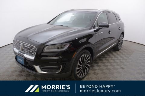 New 2019 Lincoln Nautilus Black Label