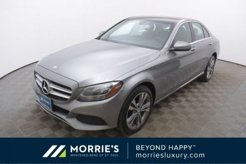 Certified Pre-Owned 2016 Mercedes-Benz C-Class C 300 4MATIC® 4D Sedan