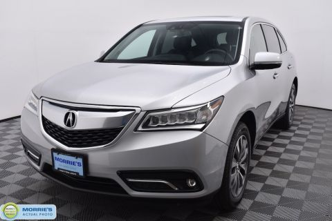 Pre-Owned 2014 Acura MDX AWD 4dr Tech Pkg