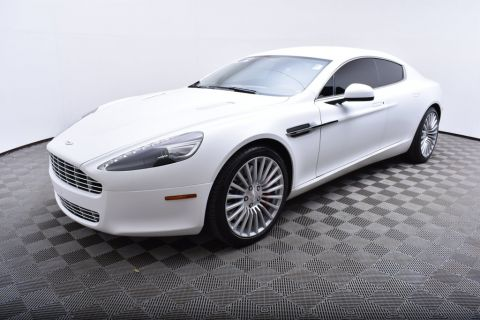 Pre-Owned 2012 Aston Martin Rapide 4dr Sedan Automatic