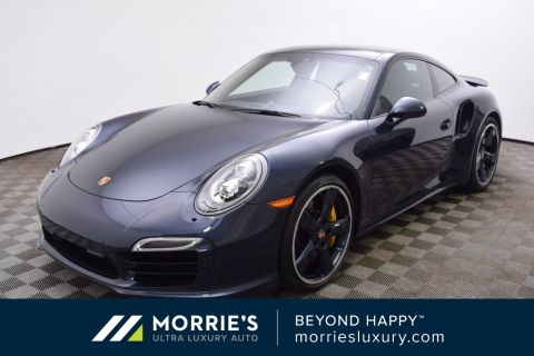 Pre-Owned 2015 Porsche 911 Turbo S AWD